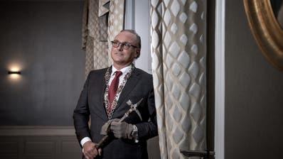 Daniel Medici ist Zunftmeister und Fritschivater 2020. (Pius Amrein, Luzern4. Januar 2020)