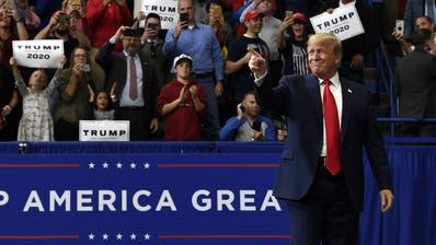 Donald Trumps Chancen auf eine zweite Amtszeit sind grösser, als manche glauben. (AP)