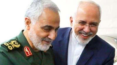 Der iranische Aussenminister Javad Zarif (rechts), hier auf einer Archivaufnahme mit dem letzte Woche getöteten General und Geheimdienst-MastermindQuassem Soleimani. (Bild: IRNA)