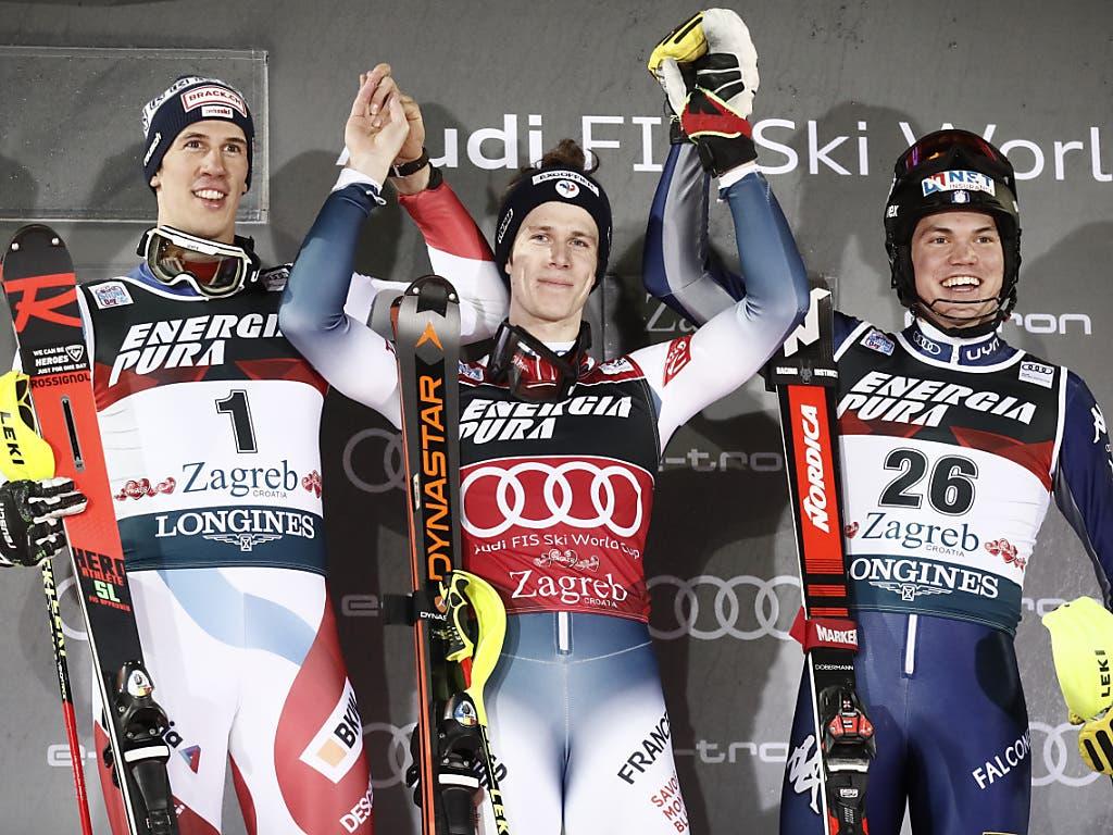 Clément Noël feierte seinen vierten Sieg im Weltcup