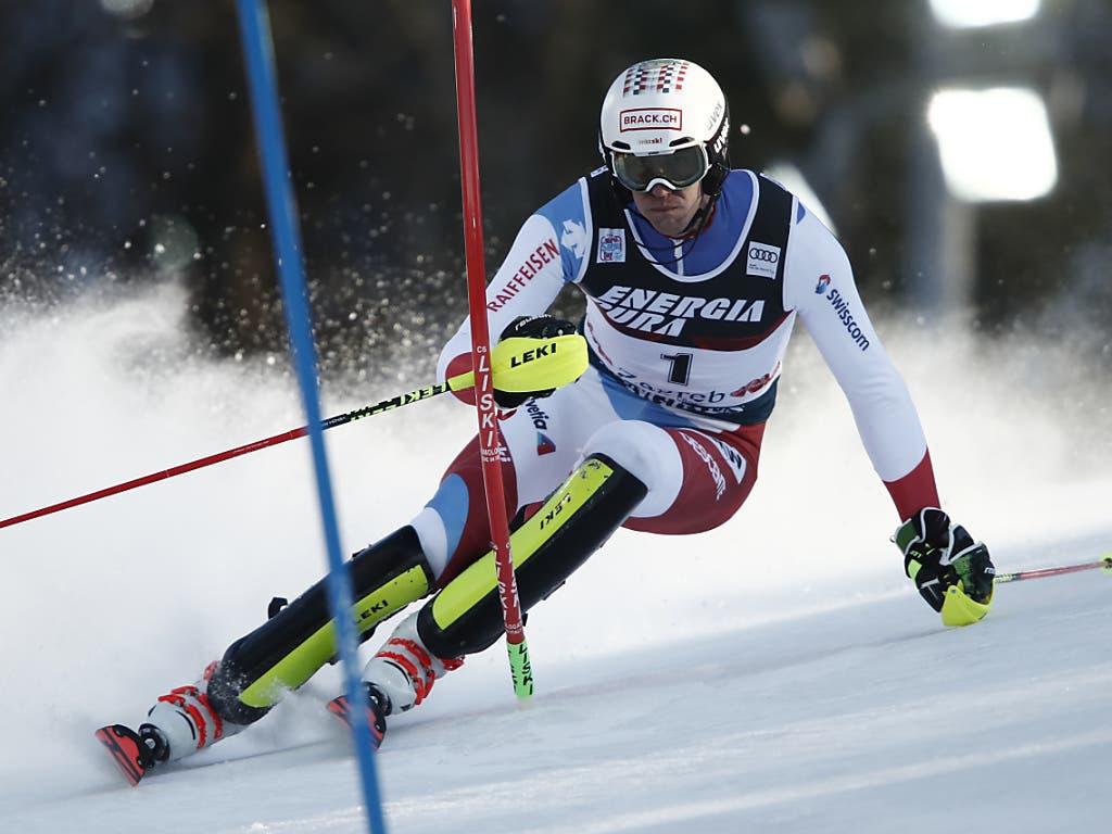 Ramon Zenhäusern verpasst seinen zweiten Weltcup-Sieg im Slalom um sieben Hundertstel