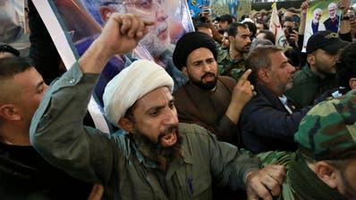 Die Tötung von Kassem Soleimani durch die USA lässt die Lage im nahen Osten eskalieren. (Bild: AP)