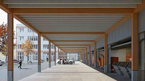 Die Stadt Zug setzt beim Ökihof-Neubau stärker auf Holz
