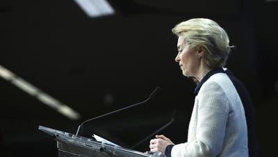 Muss eine neue Iran-Strategie finden: EU-Kommissionspräsidentin Ursula von der Leyen. (Francisco Seco/AP)
