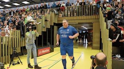 Der Schwingerkönig Christian Stucki beschwingt Zug United im NLA-Spitzenspiel