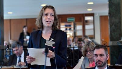 Die St.Galler Stadträtin Sonja Lüthi sitzt seit Juni 2005 im Kantonsparlament. Auf der GLP-Hauptliste für die Kantonsratswahlen vom 8. März im Wahlkreis St.Gallen-Gossau ist sie die Spitzenkandidatin. (Bild: Regina Kühne (13.6.2019))