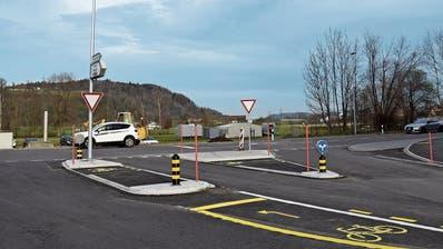 Verkehrssituation beruhigt: Der Knoten Industrie Haslen in Oberbüren ist fertiggestellt