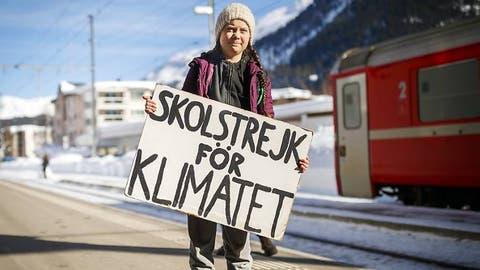 Greta kommt erneut ans WEF in Davos:«Ich will, dass ihr in Panik geratet!»