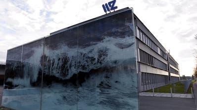 Der Sitz der WWZ im Gebiet Sumpf. (Bild: Werner Schelbert)