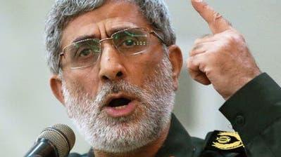 Ismail Ghaani führt künftig die  Al-Kuds-Brigaden. (Bild: AP)