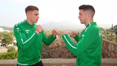 FCSG: Fifa-Flop und Teddybär – auch die Spitznamen der beiden Freunde Boris Babic und Ermedin Demirovic haben es in sich
