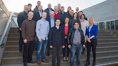 Gruppenfoto der SVP-Kandidaten. ((Bild: pd))
