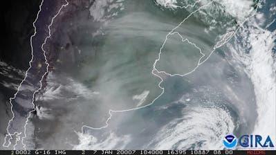 Rauch aus Australien erreicht Südamerika