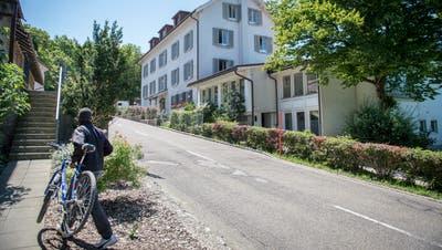 Das Asylzentrum Landegg: Ende März hätte eigentlich Schluss sein sollen. (Bild: Urs Bucher)