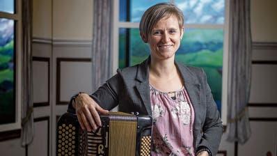 Karin Gwerder stammt aus einer Volksmusikkomponistenfamilie. (Bild: Michel Canonica)