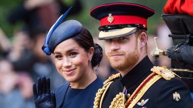 Wollen sich vom Königshaus abnabeln: Prinz Harry, Duke of Sussex, und seine FrauMeghan, Duchess of Sussex. (Samir Hussein, WireImage)