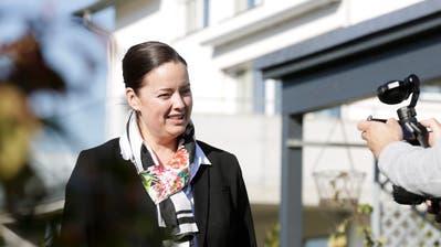 Die CVP schickt ihre Regierungsrätin Carmen Haag erneut ins Rennen. ((Bild: Donato Caspari))