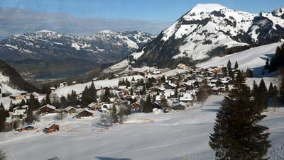Blick aufs Wirzweli mit dem Skilift Eggwald im Vordergrund. (Bild: Adolf Durrer/PD (Wirzweli, 31. Januar 2019))