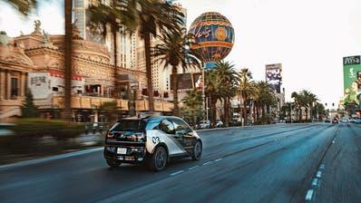 Mit dem i3 Urban Suite präsentiert BMW ein auf Shuttle für den städtischen Raum ausgelegtes Fahrzeugmodell. (Bild: zVg)