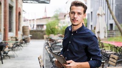 Mehmet Daku aus Herisau ist Betriebsleiter des Restaurants Lagerhaus in St. Gallen. (Bild: Mareycke Frehner)