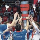 Für Luzern Volley gilt es nach der grossen Feier wieder ernst