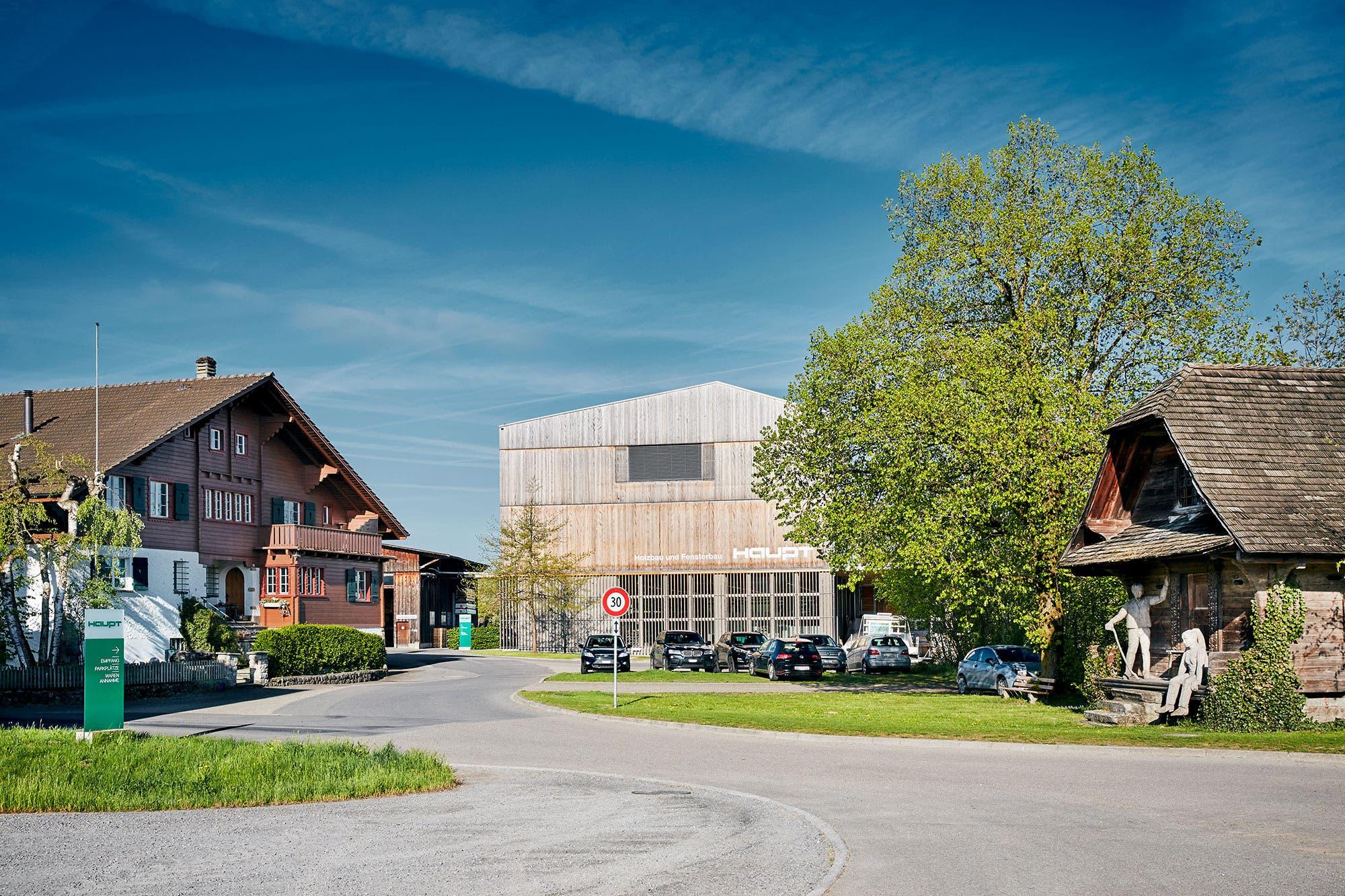 Betriebsgebäude Haupt AG