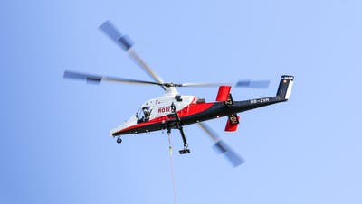 Zu lärmig seien die Helikopterflüge am Flugplatz Altenrhein. (Bild: Raphael Rohner)