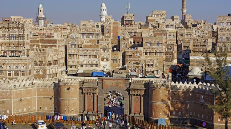 Sanaa, die Hauptstadt des Jemen. (PD/Philippe Michel, www.prismaonline.ch)