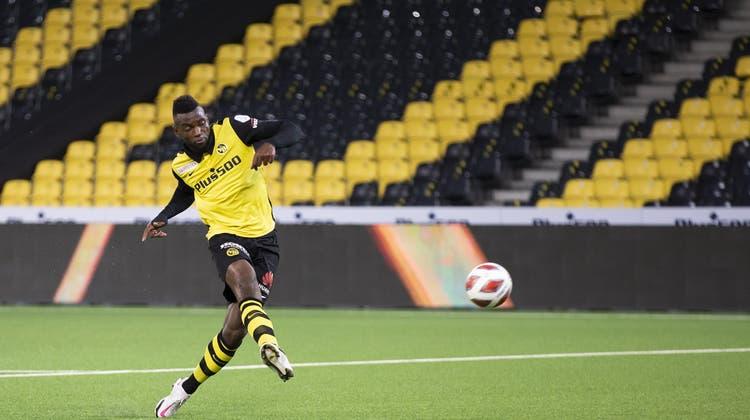Jean-Pierre Nsame trifft zum 3:0. (Keystone)