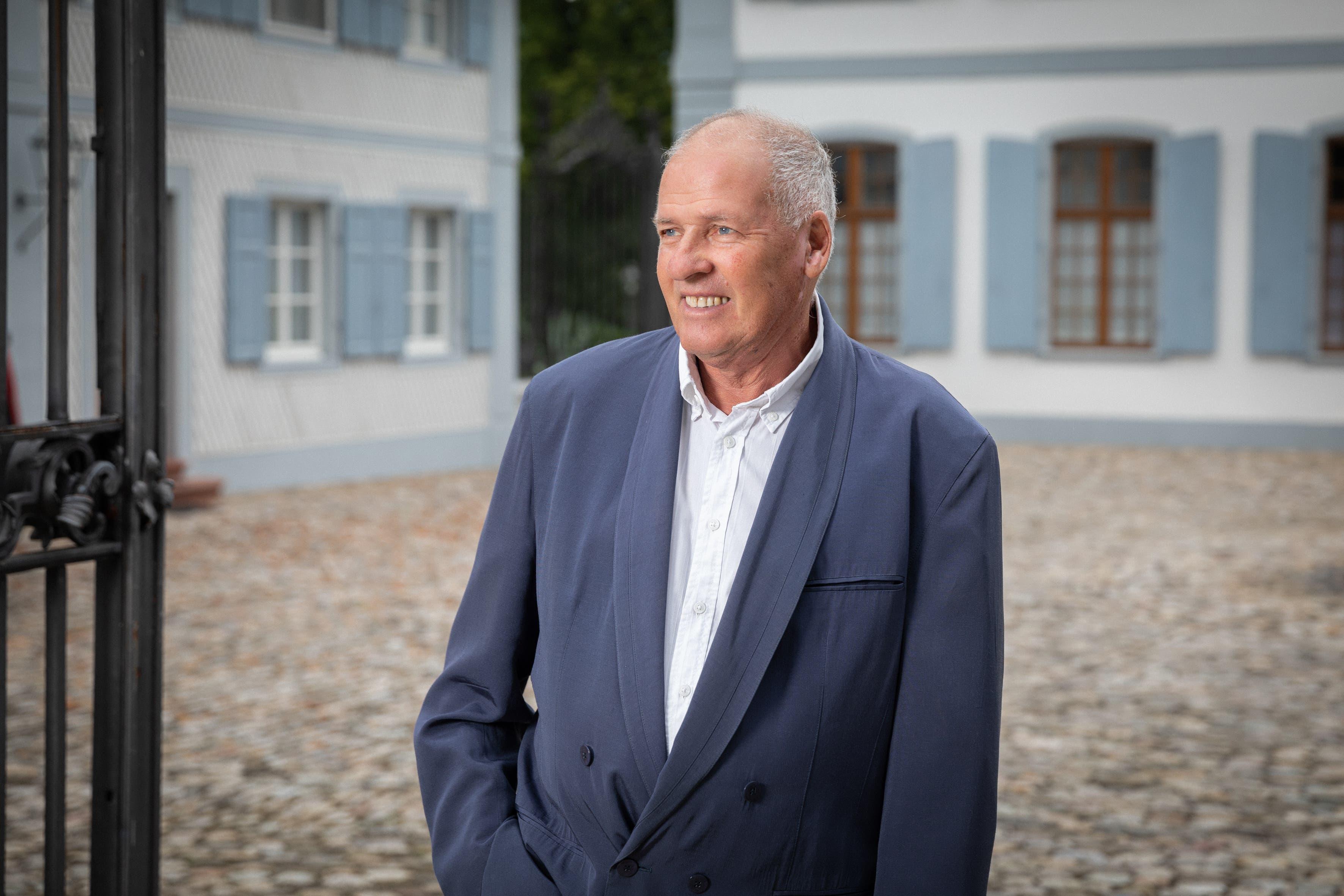 Der Baselbieter Kulturpreisträger 2020: Niggi Messerli. Bild: Matthias Willi