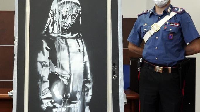 Nach Fund in ländlicher Gemeinde: Italienische Polizei sucht weiter nach Dieben der Pariser «Banksy»-Tür