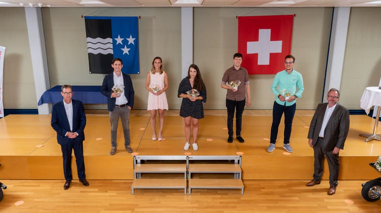 Diplomfeier: Schweizerische Bauschule Aarau AG, Unterentfelden
