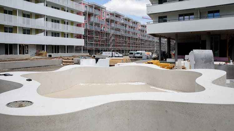 Stadtsiedlung Reitmen bereits im Bau: «Man ist froh, wird hier kein Occasionshandel mehr betrieben»