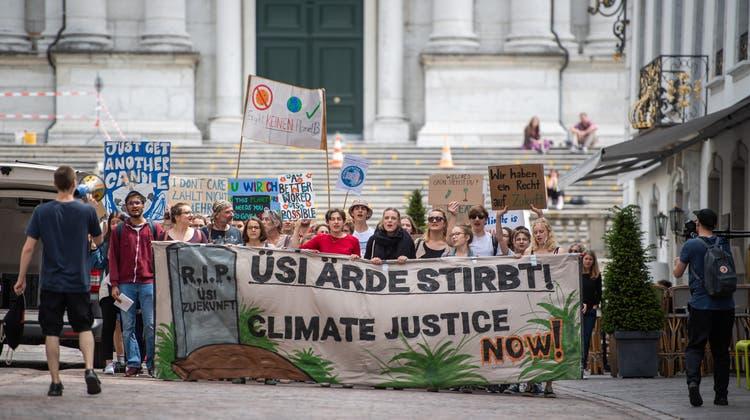 Das Klima ist nicht erst seit den Demonstrationen Thema
