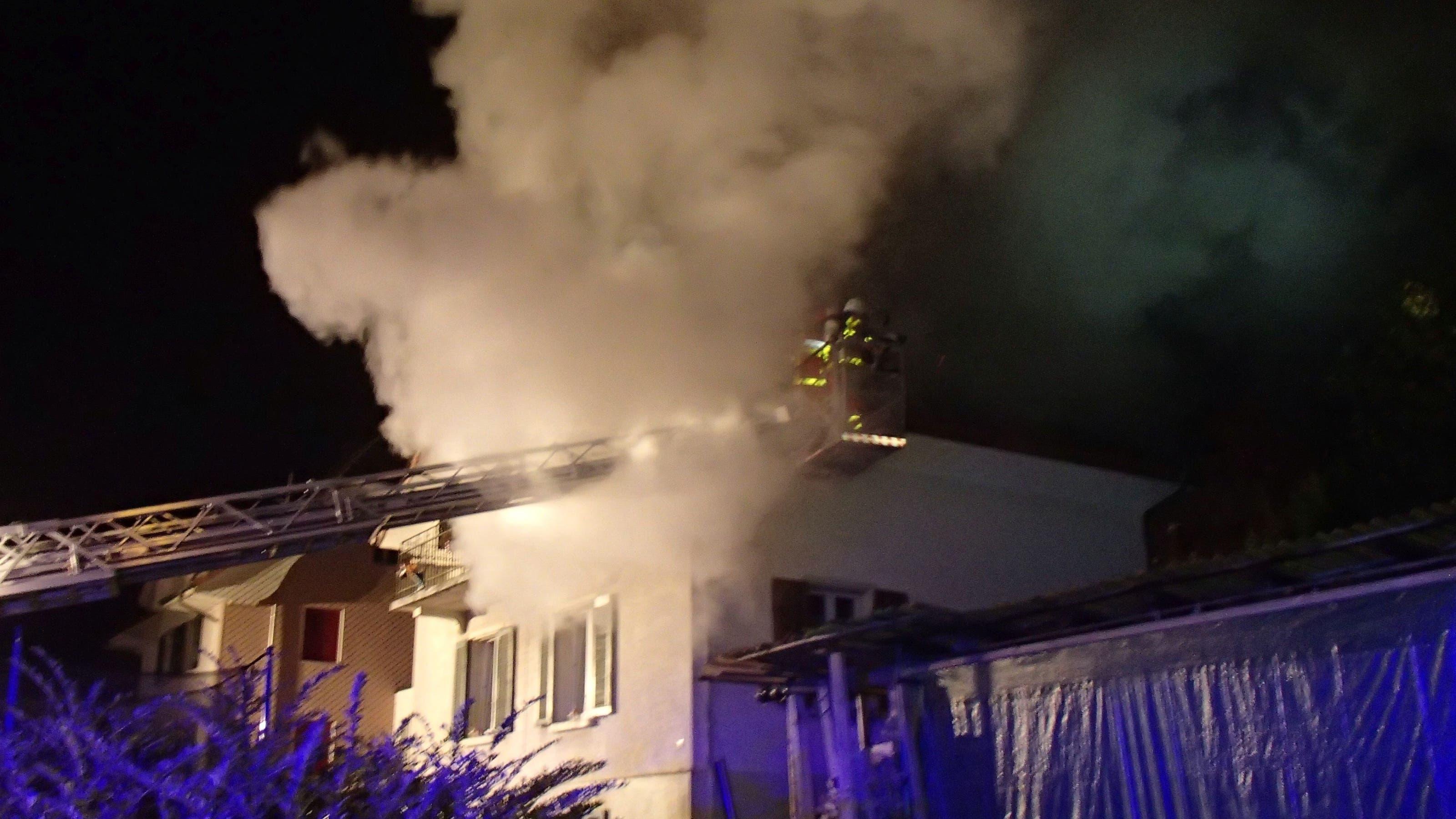 Die 30-jährige Mutter wurde verdächtigt, den Brand gelegt zu haben.