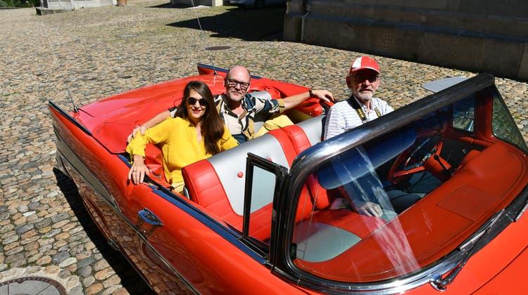 Mit einem Chevrolet braust er davon: Der Bereichsleiter Liegenschaften lässt sich frühpensionieren