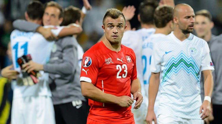 Schweizer mit Horror-Start: Nati verliert in Slowenien mit 0:1