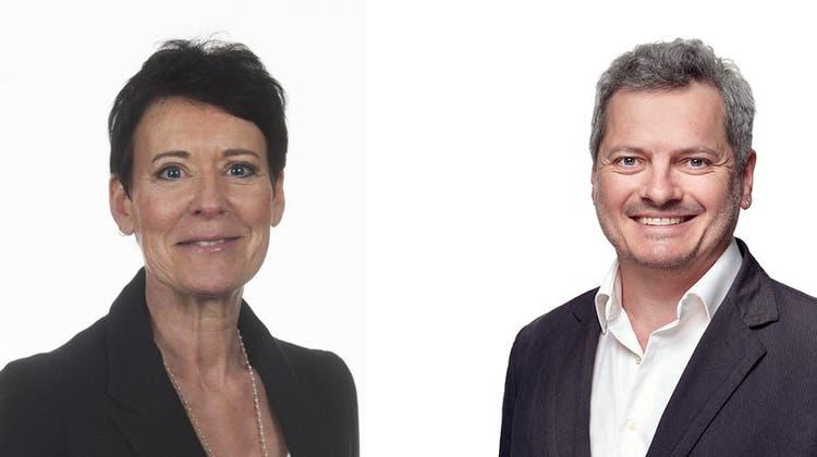 Neue Gesichter im Aargauer Parlament: Béa Bieber und Christian Keller rücken nach