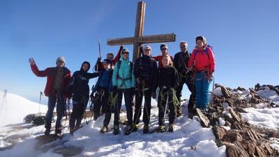 Naturfreunde auf Hochtour in Fels und Eis