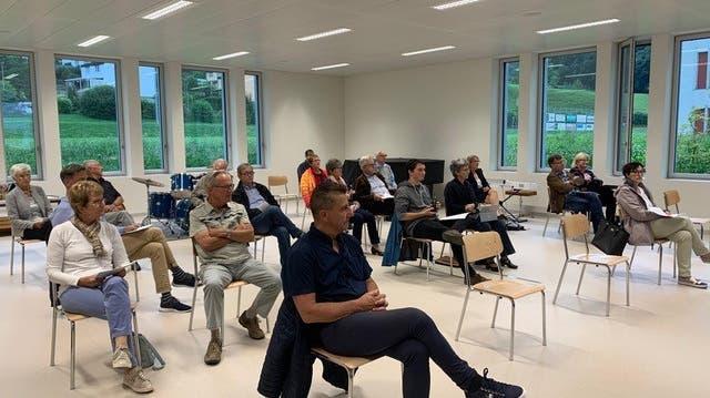 Lebhafte Generalversammlung der CVP Niederwil-Nesselnbach