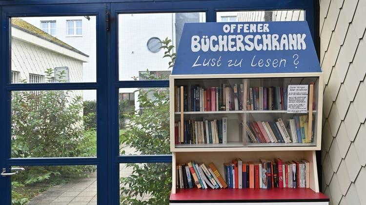 Oberdorf erhält offenen Bücherschrank