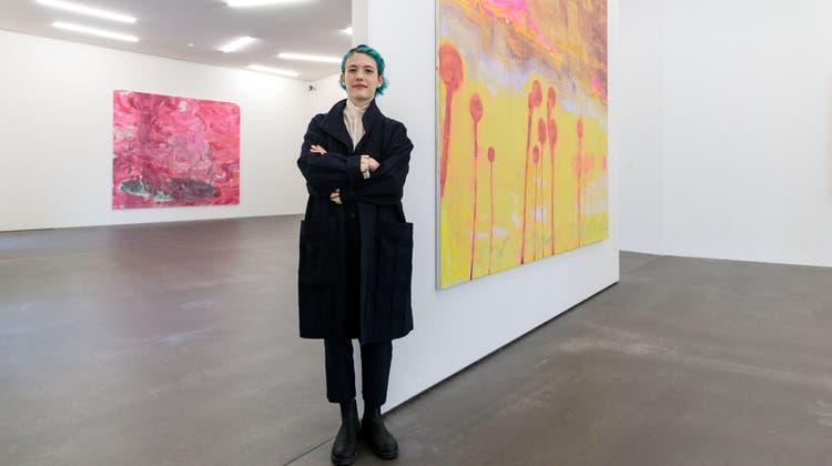 Führung durch die aktuelle Ausstellung von und mit Rebekka Steiger
