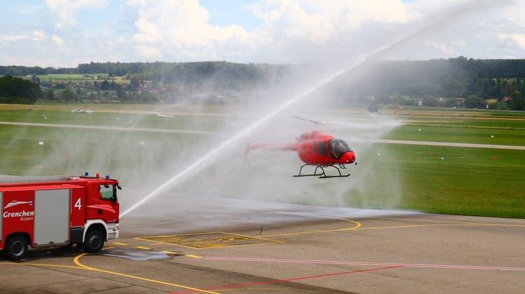 Neue Helikopter für die Mountainflyers