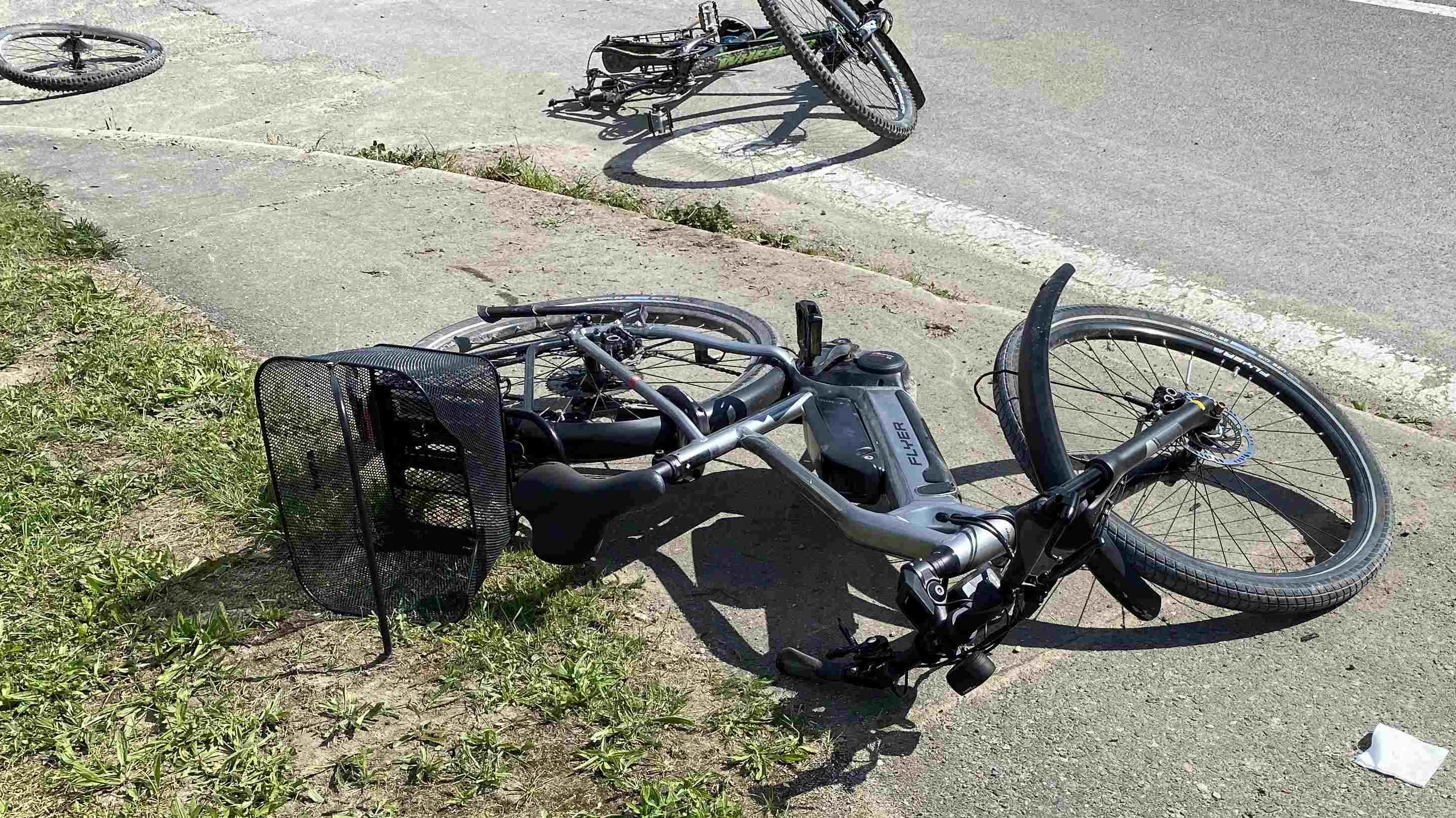 Unfall in Birrhard.