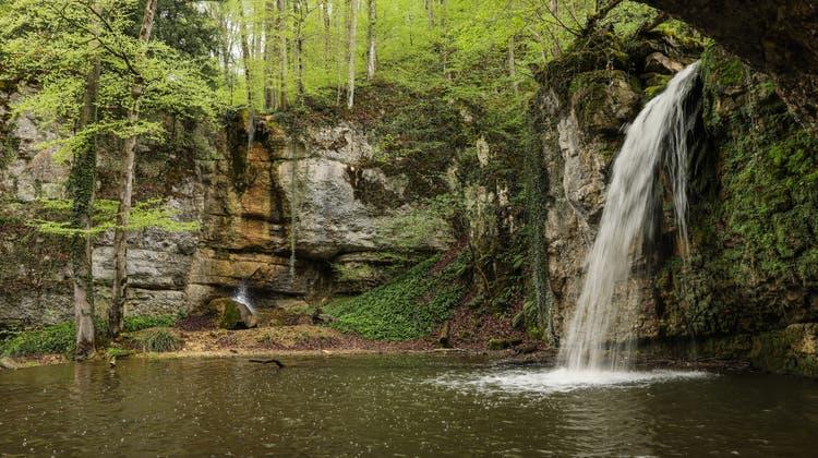 Schuld für die Darmbakterien im Wasserfall Giessen ist die Kläranlage - eine Einsprache verhindert die Schliessung