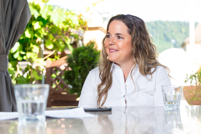 Trotz Karierre: Familie kommt vor Politik. Für Martina Bircher hat ihr zweijähriger Sohn James-Henry Priorität.