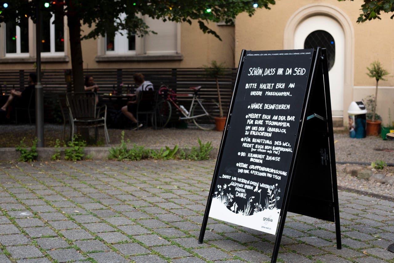 Odeon Garten Das Brugger Kulturhaus Odeon öffnet die Türen teilweise wieder.