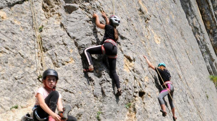 Damit keine Langeweile aufkommt: Solothurner Ferienkinder üben sich in verschiedensten Sportarten