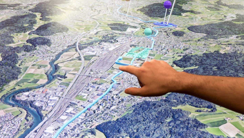 Die Limmatstadt AG zieht nach einem Jahr Bilanz: Das 3D-Modell wird rege genutzt, aber es gibt noch Luft nach oben