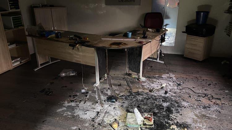 Erheblicher Sachschaden bei Schwelbrand in Niederdorf